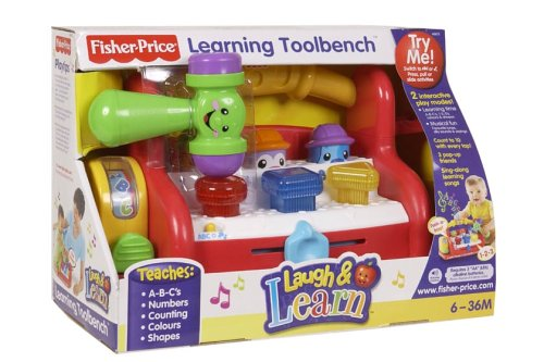 Fisher Price Learning Toys : Fisher price laugh learn learning tool bench by